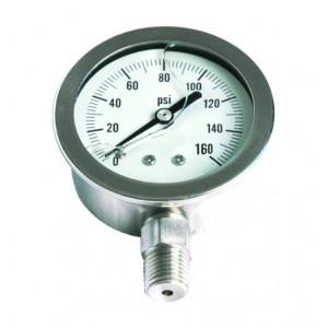 Stainless Steel Pressure Gauge(L)